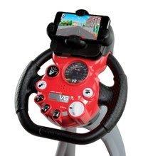 Trenažér pre deti - Pretekársky trenažér V8 Driver Smoby elektronický so zvukom_4