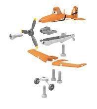 Pracovná detská dielňa - Pracovný stôl Lietadlá Smoby s mechanickou vŕtačkou, lietadlom Dusty a 20 doplnkami_0