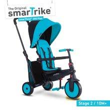 Tříkolka skládací smarTfold 6v1 smarTrike 300 Plus TouchSteering s EVA kolečky modrá