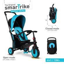 Tricicletă pliabilă smarTfold 6în1 smarTrike 300 Plus blue TouchSteering compatibilă cu roțile EVA de la 10 luni ST5021800A