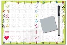 Poučna igra tabla Piši in briši 123 Dohány - Številke