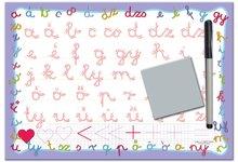 Poučna igra tabla Piši in briši Dohány - ABC male črke