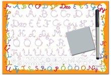Naučná hra tabule Piš a smaž Dohány ABC