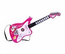 Dětské hudební nástroje - Set kytary a baskytary 44 Cats Smoby modrá a růžová s množstvím světelných a zvukových funkcí od 5 let_2