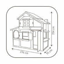 SMOBY 320021 Detský Domček Maison Duplex