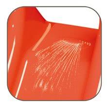 Šmykľavky pre deti  - Šmykľavka Toboggan XS Smoby s vodou dĺžka 90 cm červeno-zelená od 24 mes_4