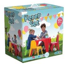 Sada pre deti Starplast stôl a 4 stoličky