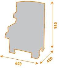 SMOBY 500204 Black and Decker PRACOVNY S