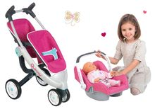 Komplet voziček za dojenčka Maxi Cosi & Quinny Smoby (70 cm ročaj) in sedež za v avto