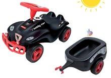 Babytaxiu maşină Fulda New Bobby Car BIG remorcă neagră de la 12 luni