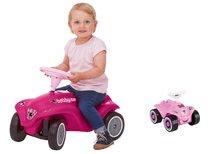 Odrážadlá sety - Set ružové odrážadlo New Bobby Minnie s klaksónom a ružové skladacie autíčko Mini Bobby od 12 mes_14