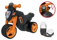 Setul babytaxiu motocicletă Sport Bike BIG cu claxon electronic şi husă protecţie pentru pantofi de la 18 luni