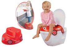 Komplet nastavek za stranišče avtomobilček BIG in otroške stopničke avtomobilček od 18 mes