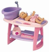Staré položky - Přebalovací stolek s koupelnou Nursery Écoiffier růžový a 8 doplňků od 18 měsíců_0