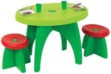 Piknikový stolek pro děti Ecoiffier se dvěma židlemi a 13 doplňků od 18 měsíců