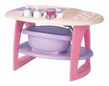 Staré položky - Přebalovací stolek s koupelnou Nursery Écoiffier růžový a 8 doplňků od 18 měsíců_1