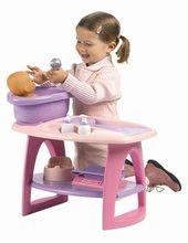 Staré položky - Přebalovací stolek s koupelnou Nursery Écoiffier růžový a 8 doplňků od 18 měsíců_2