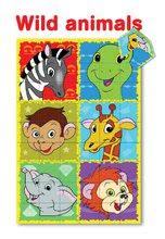 Otroške pravljične kocke - Pravljične kocke Safari živali Dohány 9 delov_0