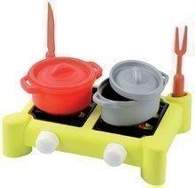 Spotrebiče do kuchynky - Set toaster Mini Tefal Smoby tlakový hrniec Tefal, potraviny v sieťke a varič s hrncami_6