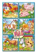 Pohádkové kostky - Pohádkové kostky Domácí zvířata Dohány 16 dílů_0