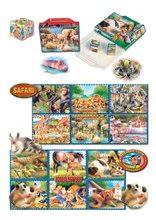 Rozprávkové kocky - Veľké rozprávkové kocky Safari Dohány 20 dielov_0