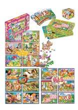 Rozprávkové kocky - Veľké rozprávkové kocky Domáce zvieratká Dohány 24 dielov_0