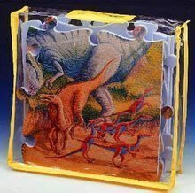 Puzzle din burete Dinozaur Lee Chyun 54 bucăţi