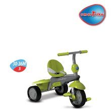 Trojkolky od 10 mesiacov - Trojkolka Breeze Touch Steering smarTrike zeleno-šedá od 10 mes_3