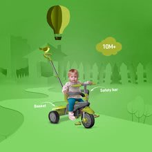Trojkolky od 10 mesiacov - Trojkolka Breeze Touch Steering smarTrike zeleno-šedá od 10 mes_4
