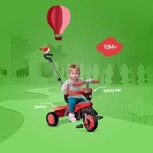 Trojkolky od 10 mesiacov - Trojkolka Breeze Touch Steering smarTrike červeno-čierna od 10 mes_4