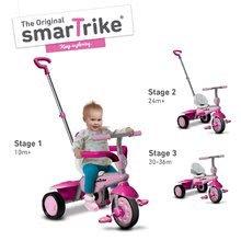 Trojkolky od 10 mesiacov - Trojkolka Breeze Touch Steering smarTrike ružovo-fialová od 10 mes_3