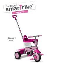 Trojkolky od 10 mesiacov - Trojkolka Breeze Touch Steering smarTrike ružovo-fialová od 10 mes_0