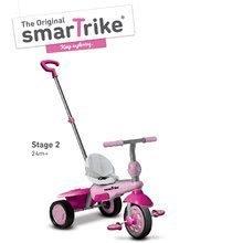 Trojkolky od 10 mesiacov - Trojkolka Breeze Touch Steering smarTrike ružovo-fialová od 10 mes_1