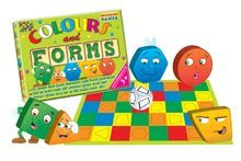 Společenské hry pro děti - Společenská hra Barvy a tvary Dohány 1 hrací plocha od 3 let_0