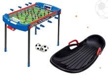 Set futbalový stôl Challenger Smoby a boby Snow Carver s carvingovým profilom a brzdou