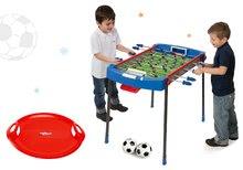 Set futbalový stôl Challenger Smoby a snežný tanier Snow Attack robustný