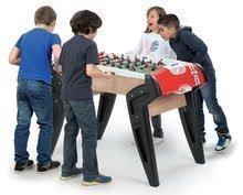 Stolný futbal - Drevený futbalový stôl BBF Nr. 1 Smoby s 2 korkovými loptičkami od 8 rokov_0