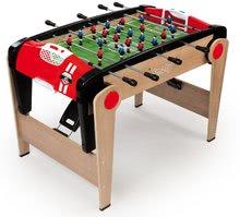 Drevený futbalový stôl BBF Millenium Smoby skladací s s 2 loptičkami od 8 rokov