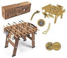 Stolný futbal - Drevený futbalový stôl Click&Goal Soccer Table Smoby skladací a rozkladací za 10 minút s 2 loptičkami od 8 rokov_9