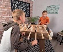 Stolný futbal - Drevený futbalový stôl Click&Goal Soccer Table Smoby skladací a rozkladací za 10 minút s 2 loptičkami od 8 rokov_1