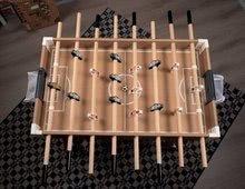 Stolný futbal - Drevený futbalový stôl Click&Goal Soccer Table Smoby skladací a rozkladací za 10 minút s 2 loptičkami od 8 rokov_3