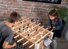 Stolný futbal - Drevený futbalový stôl Click&Goal Soccer Table Smoby skladací a rozkladací za 10 minút s 2 loptičkami od 8 rokov_2