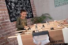 Stolný futbal - Drevený futbalový stôl Click&Goal Soccer Table Smoby skladací a rozkladací za 10 minút s 2 loptičkami od 8 rokov_4