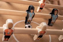 Stolný futbal - Drevený futbalový stôl Click&Goal Soccer Table Smoby skladací a rozkladací za 10 minút s 2 loptičkami od 8 rokov_13