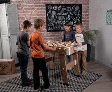 Stolný futbal - Drevený futbalový stôl Click&Goal Soccer Table Smoby skladací a rozkladací za 10 minút s 2 loptičkami od 8 rokov_5