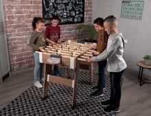 Stolný futbal - Drevený futbalový stôl Click&Goal Soccer Table Smoby skladací a rozkladací za 10 minút s 2 loptičkami od 8 rokov_0