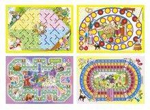 Společenské hry pro děti - Sada pohádkových společenských her Dohány Sněhurka, Červená Karkulka, Pinocchio, Malá mořská víla, Jeníček a Mařenka, Popelka od 5 let_2