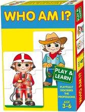 Spoločenské hry pre deti - Náučná hra Povolania Dohány 24 ks od 4 rokov_0