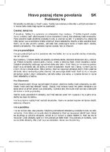 Spoločenské hry pre deti - Náučná hra Povolania Dohány 24 ks od 4 rokov_3