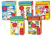 Spoločenské hry pre deti - Náučná hra Zvieratá a mláďatá Dohány 32 ks_2